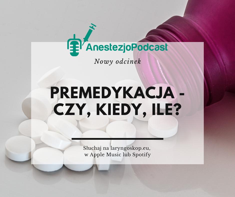 premedykacja anestezjologia